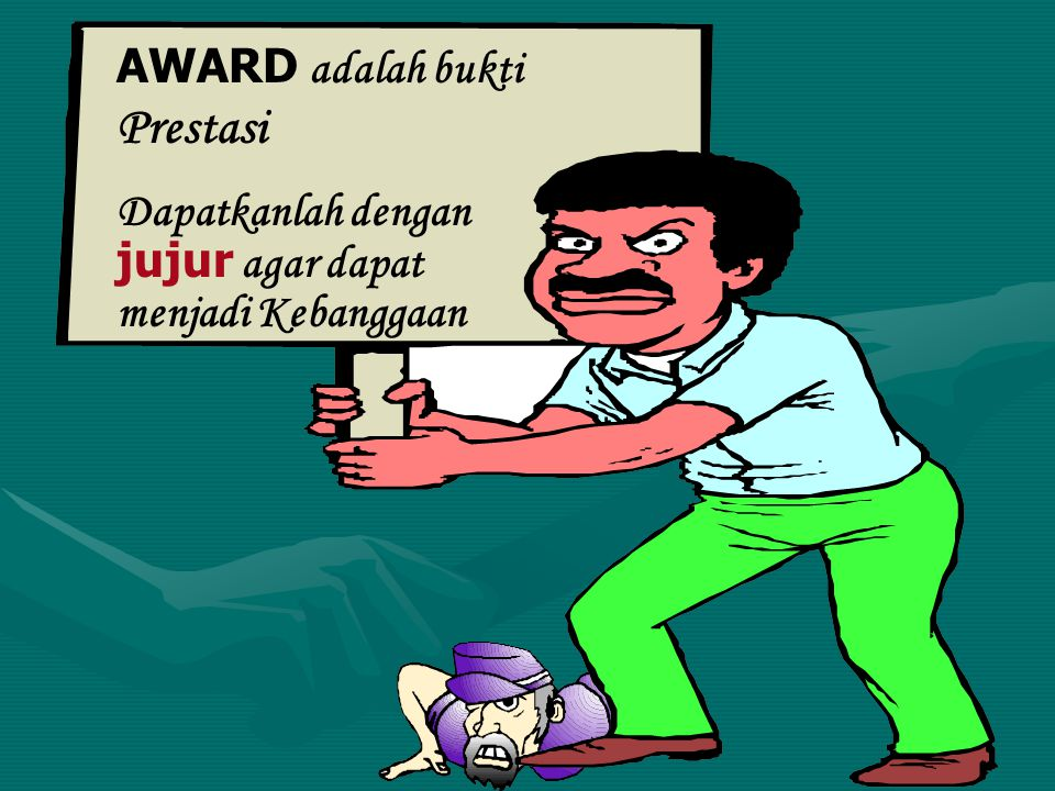 AWARD adalah bukti Prestasi