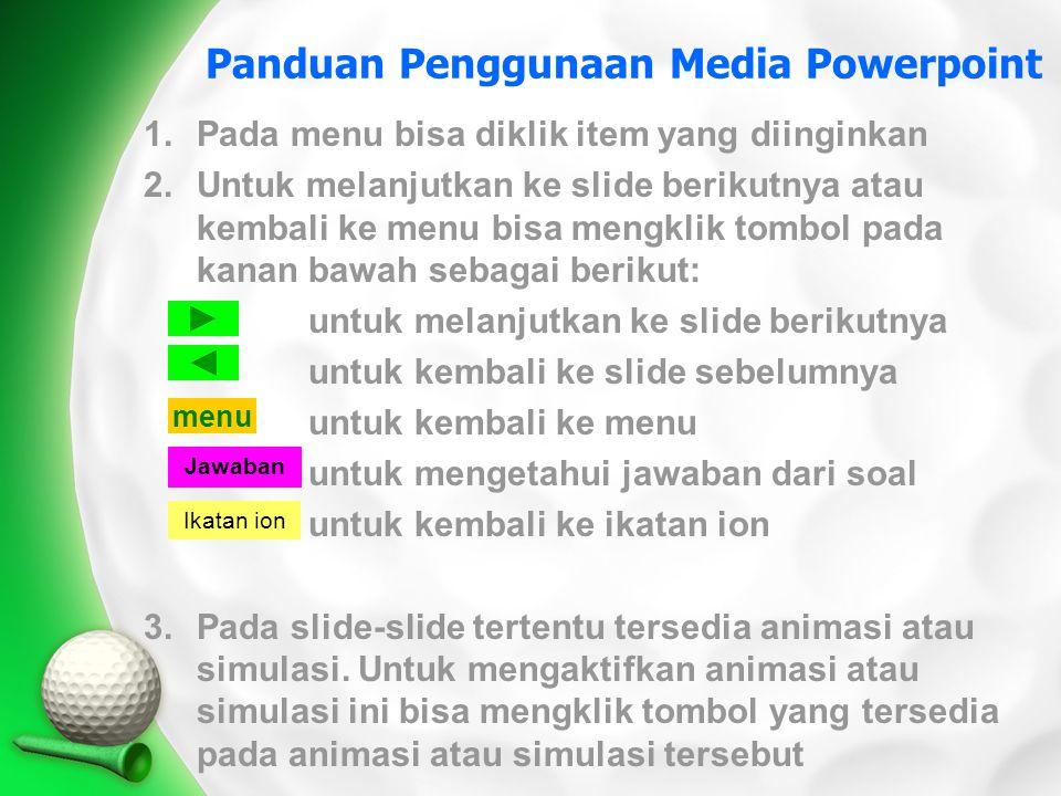 Panduan Penggunaan Media Powerpoint