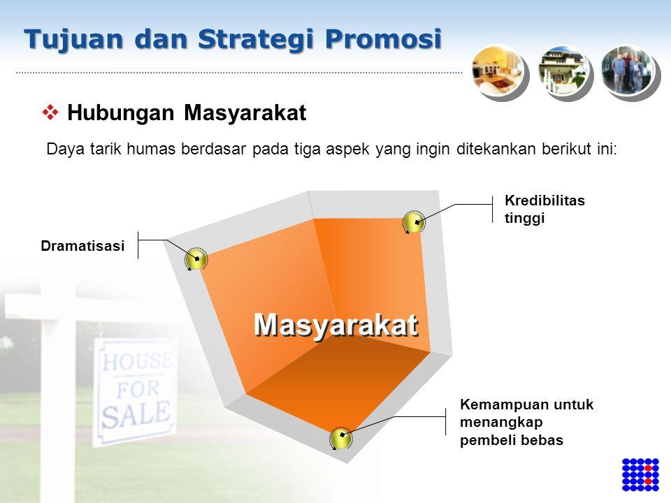 Masyarakat Tujuan dan Strategi Promosi Hubungan Masyarakat