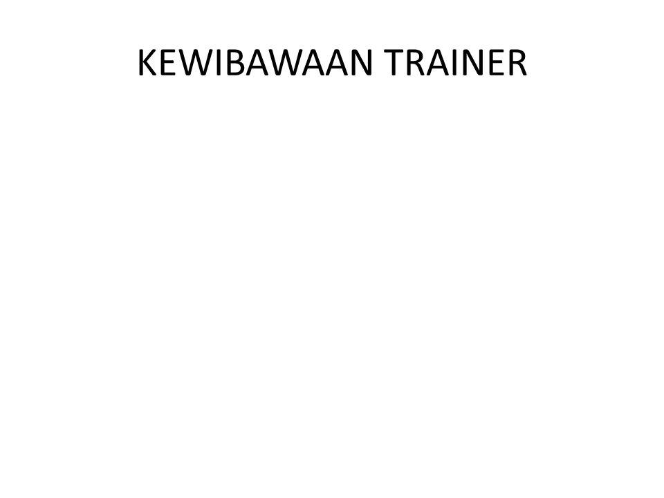 KEWIBAWAAN TRAINER