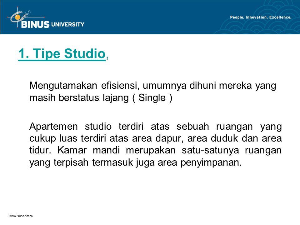 1. Tipe Studio,