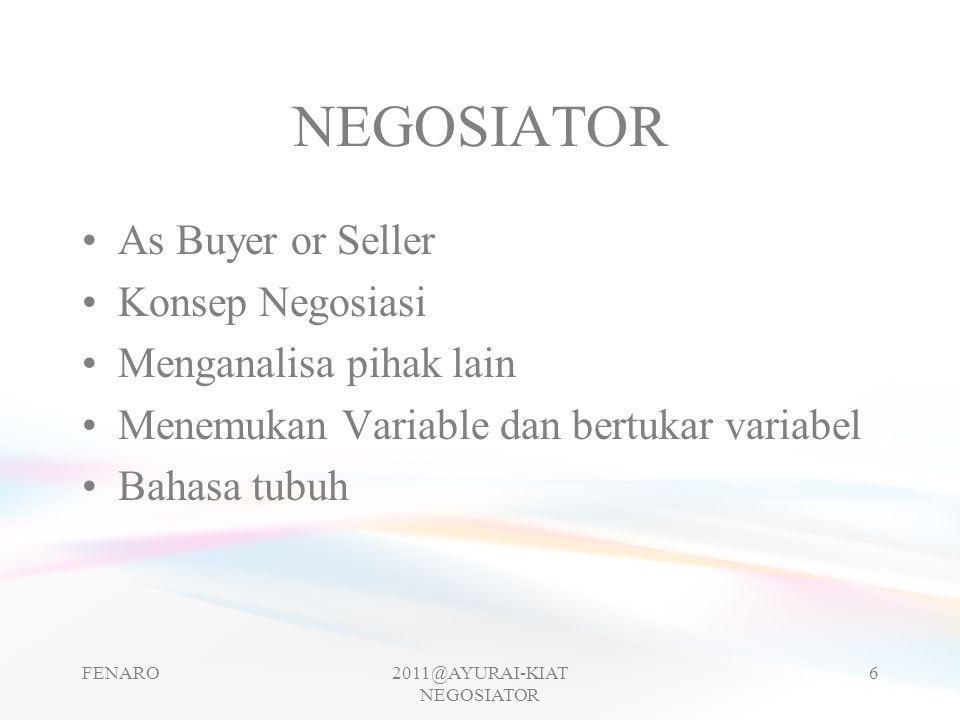 2011@AYURAI-KIAT NEGOSIATOR