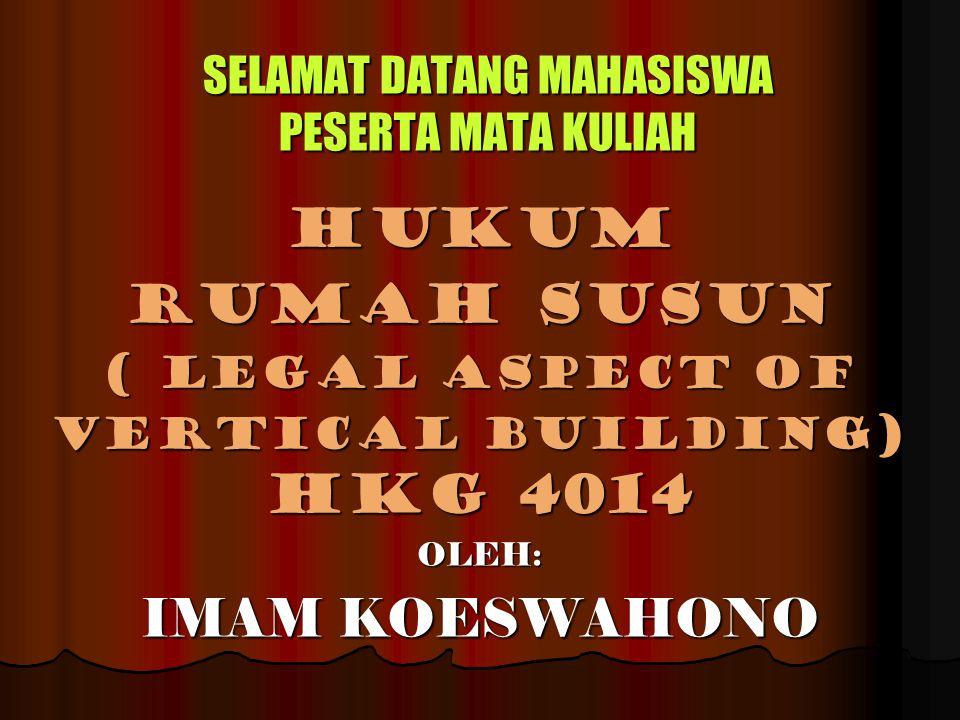 SELAMAT DATANG MAHASISWA PESERTA MATA KULIAH