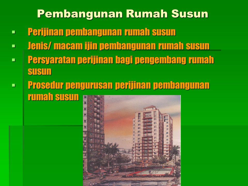 Pembangunan Rumah Susun