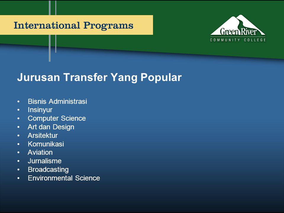 Jurusan Transfer Yang Popular