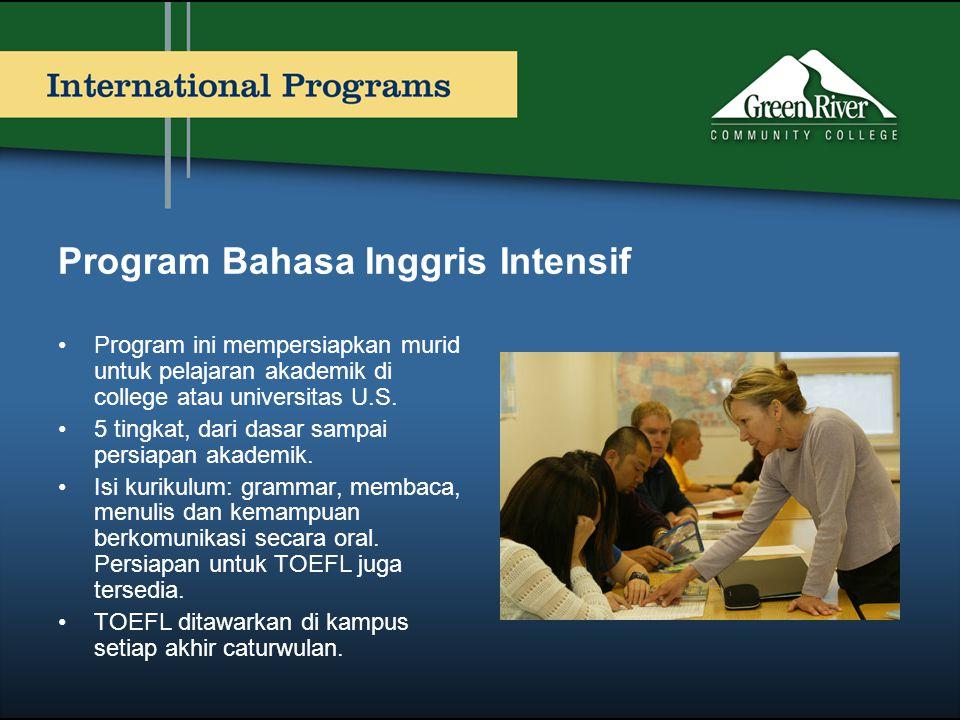 Program Bahasa Inggris Intensif