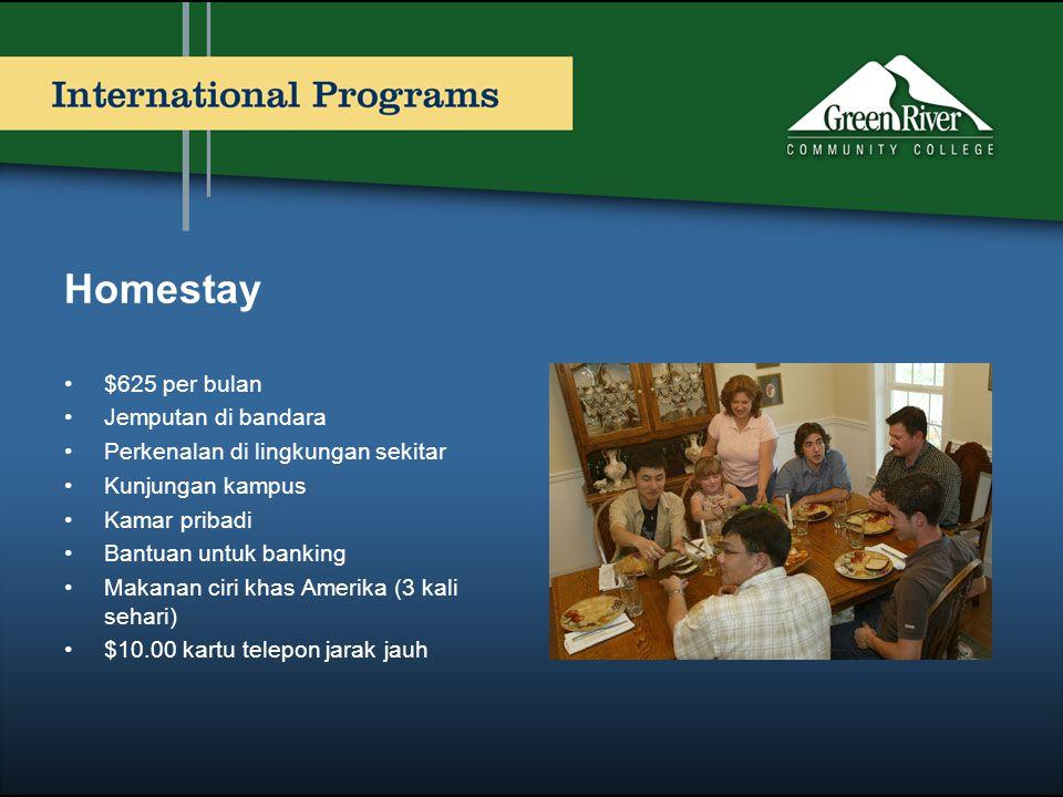 Homestay $625 per bulan Jemputan di bandara