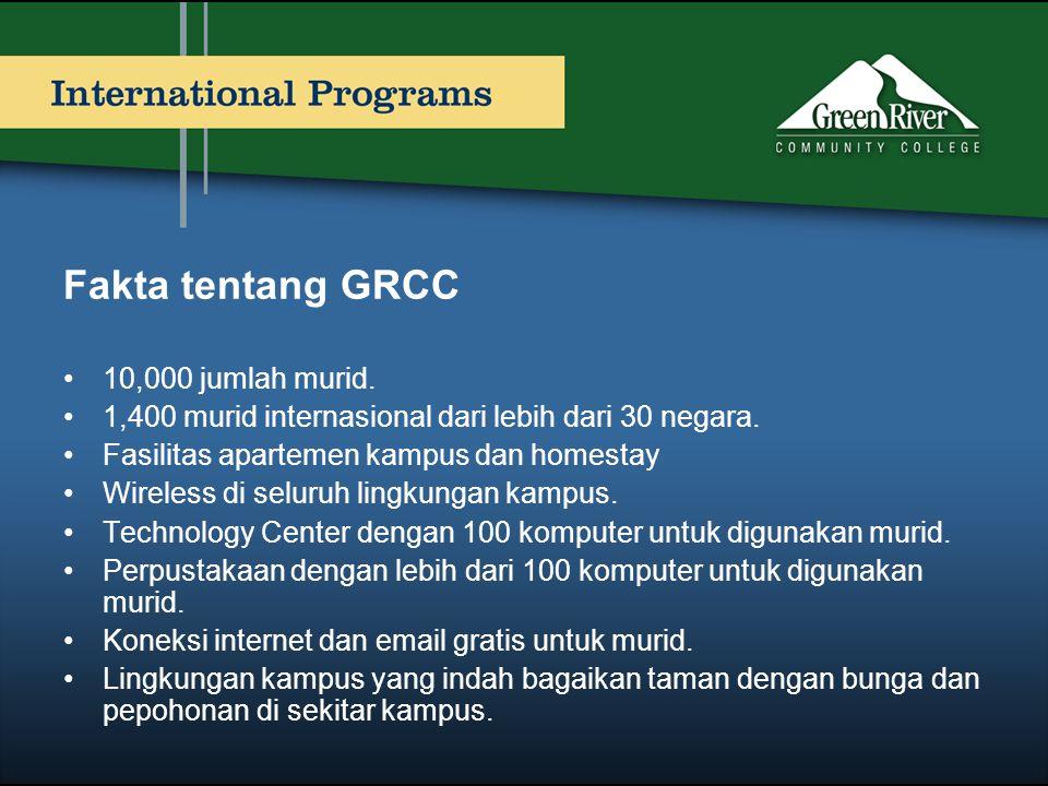Fakta tentang GRCC 10,000 jumlah murid.