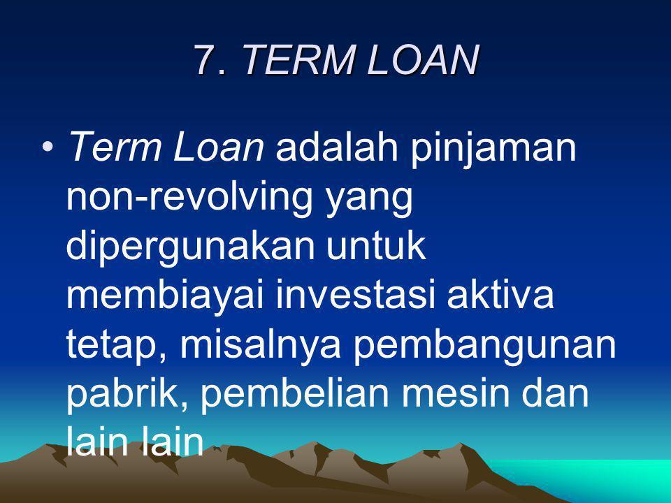 7. TERM LOAN