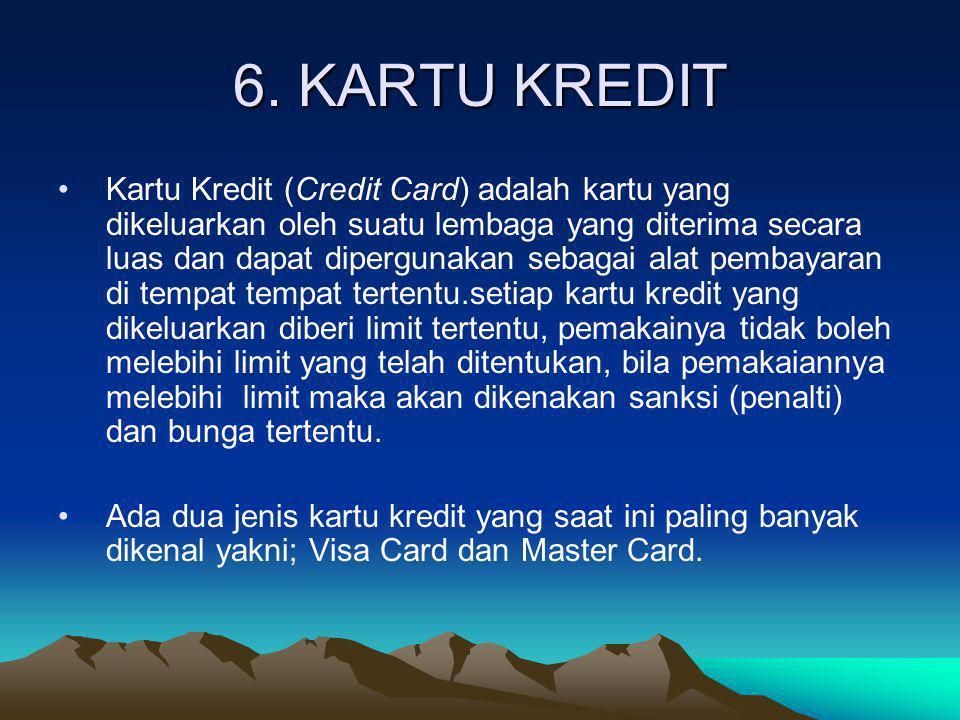 6. KARTU KREDIT