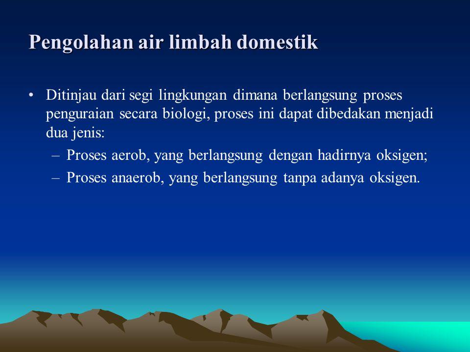 Pengolahan air limbah domestik