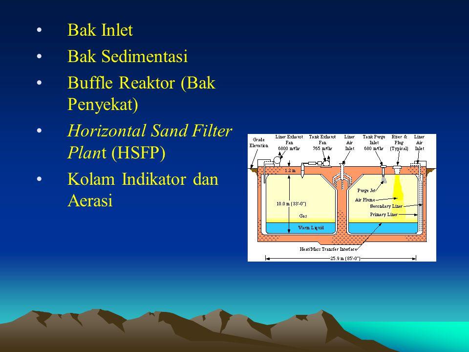 Bak Inlet Bak Sedimentasi.