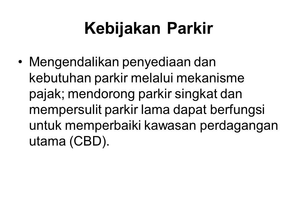 Kebijakan Parkir
