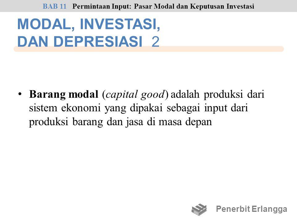 MODAL, INVESTASI, DAN DEPRESIASI 2