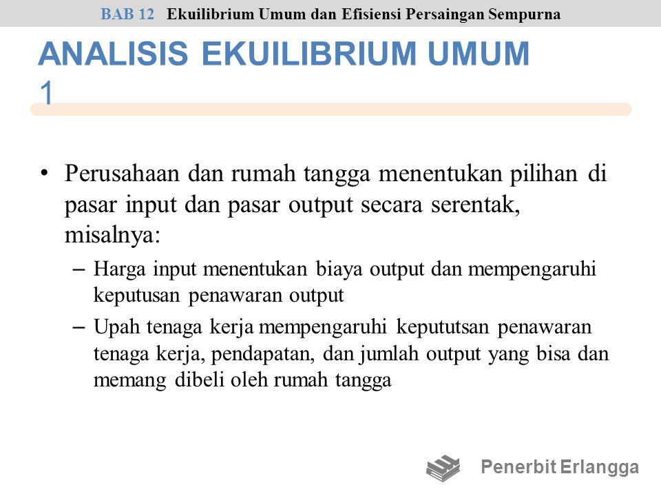 ANALISIS EKUILIBRIUM UMUM 1