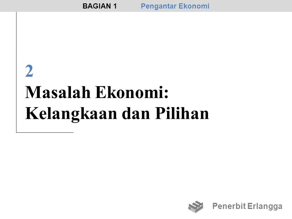 2 Masalah Ekonomi: Kelangkaan dan Pilihan