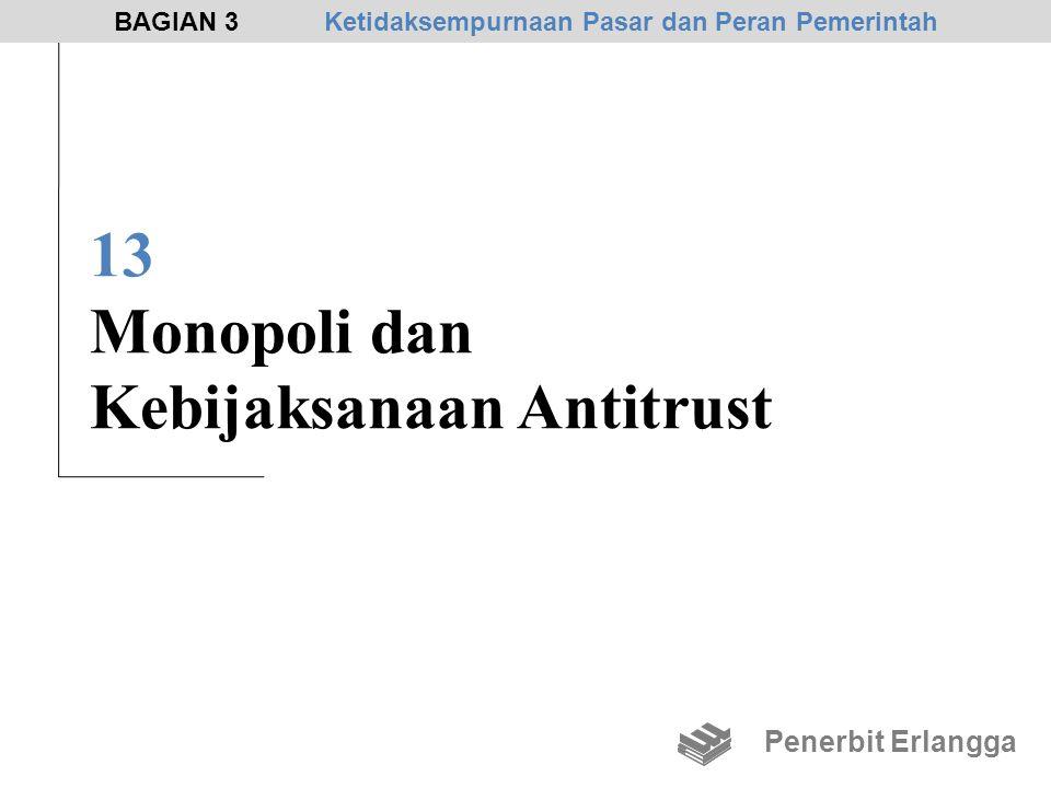 13 Monopoli dan Kebijaksanaan Antitrust