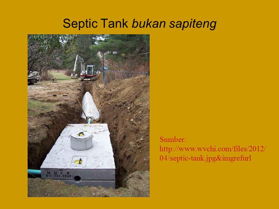 Septic Tank bukan sapiteng