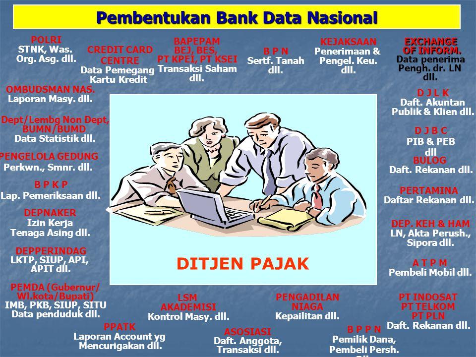 Pembentukan Bank Data Nasional
