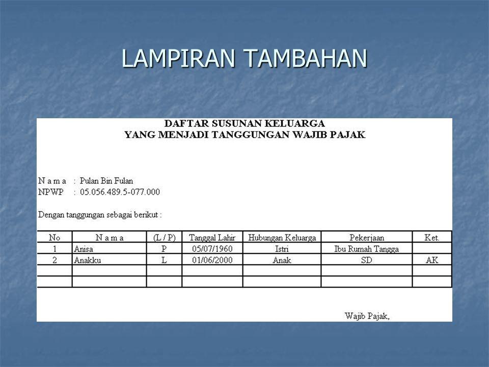 LAMPIRAN TAMBAHAN
