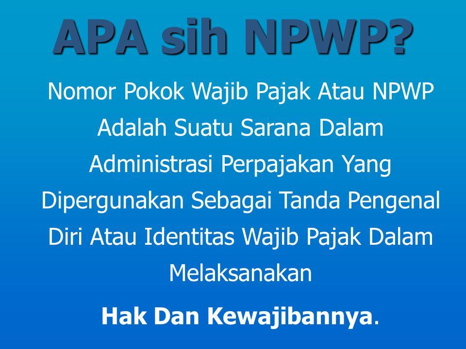 APA sih NPWP