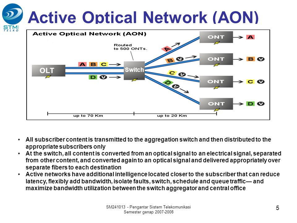 Active Optical Network (AON)
