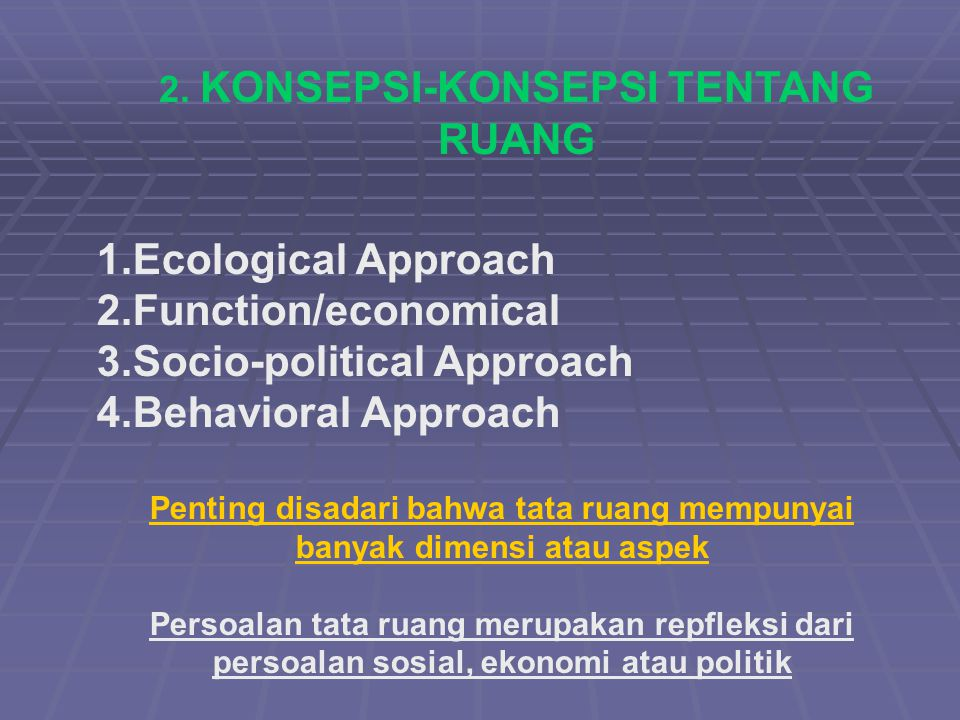 Socio-political Approach Behavioral Approach