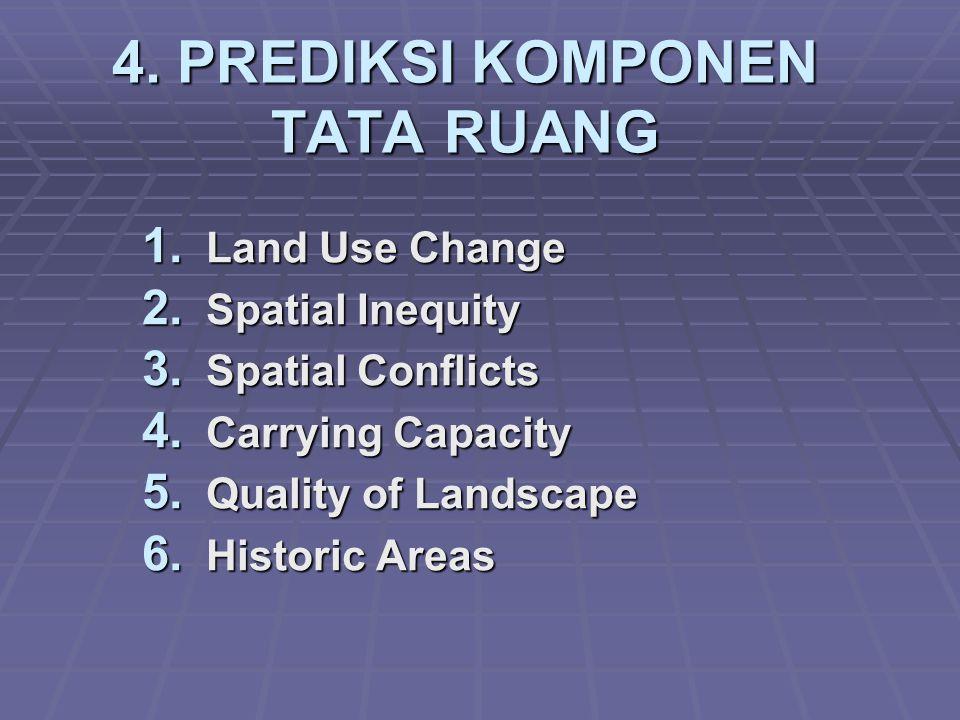 4. PREDIKSI KOMPONEN TATA RUANG