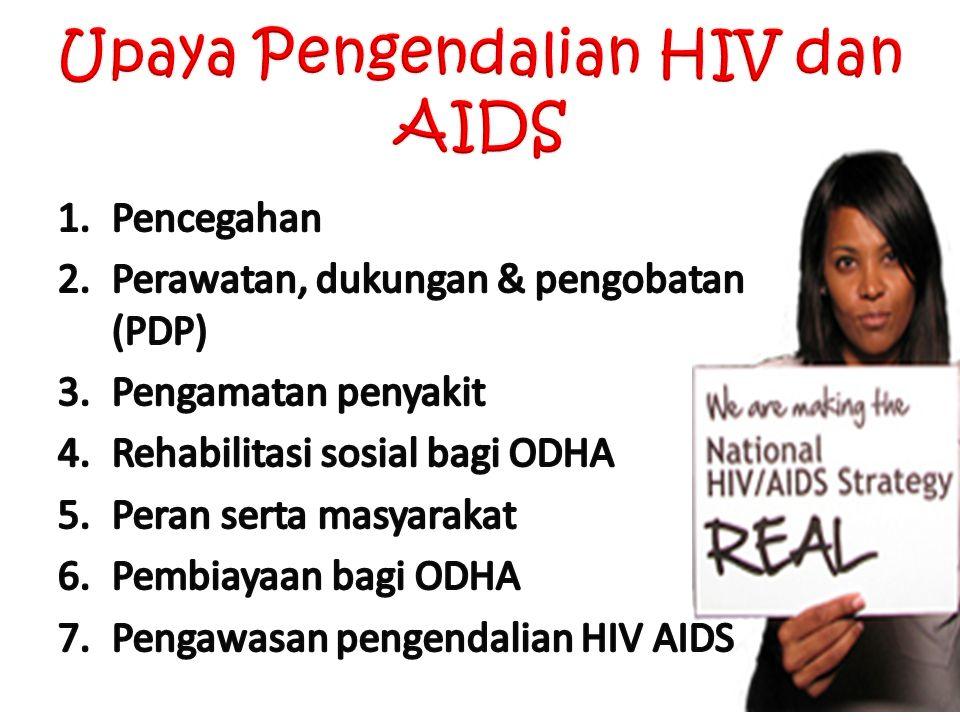 Upaya Pengendalian HIV dan AIDS