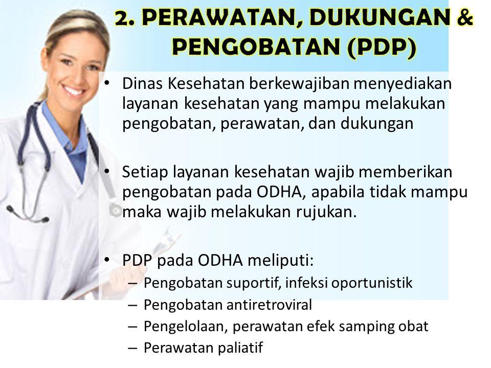 2. PERAWATAN, DUKUNGAN & PENGOBATAN (PDP)
