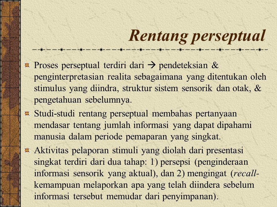 Rentang perseptual