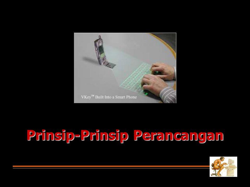 Prinsip-Prinsip Perancangan