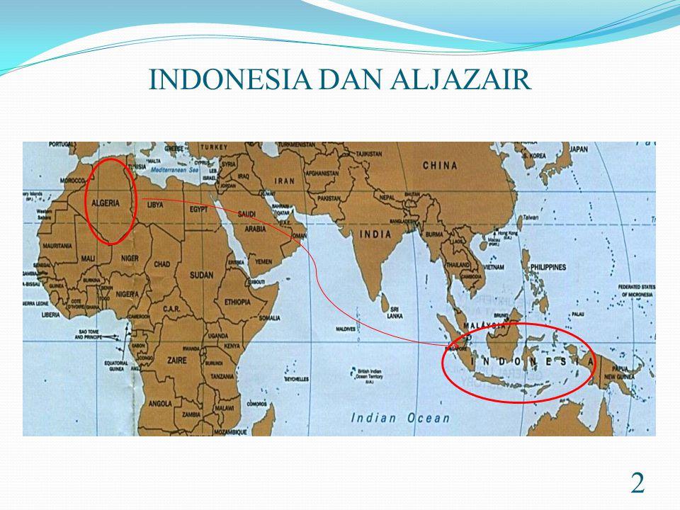 INDONESIA DAN ALJAZAIR