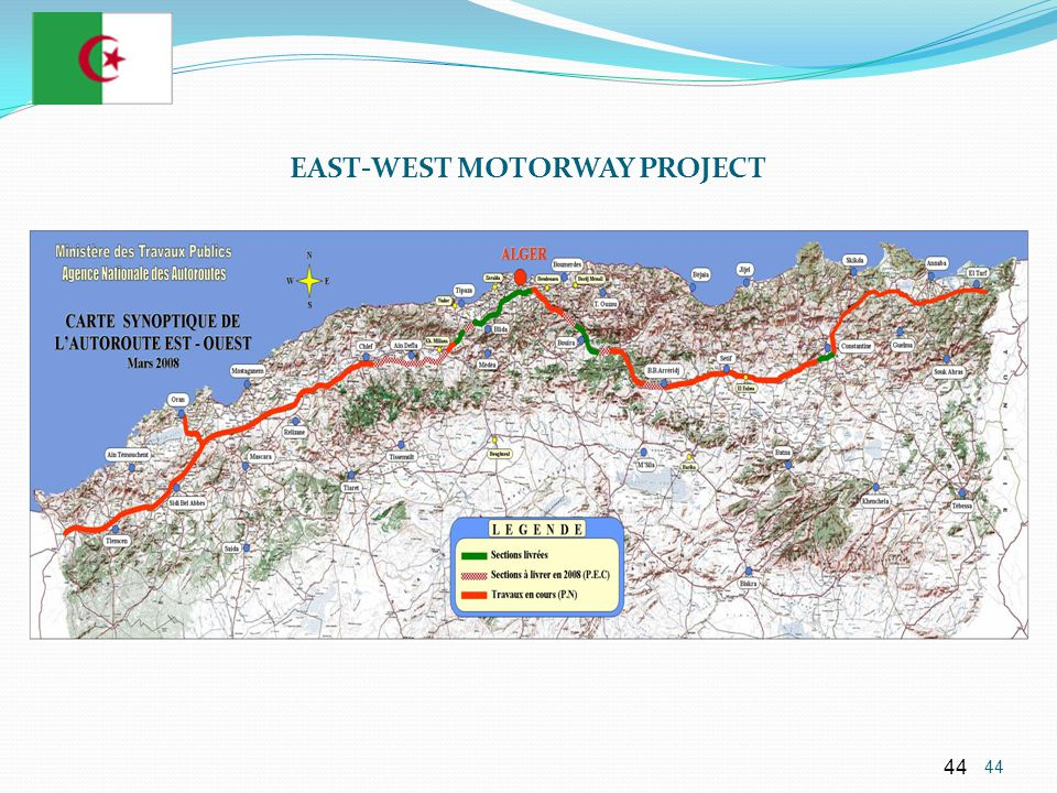 EAST-WEST MOTORWAY PROJECT