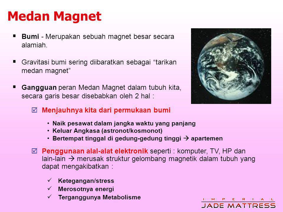 Medan Magnet Bumi - Merupakan sebuah magnet besar secara alamiah.