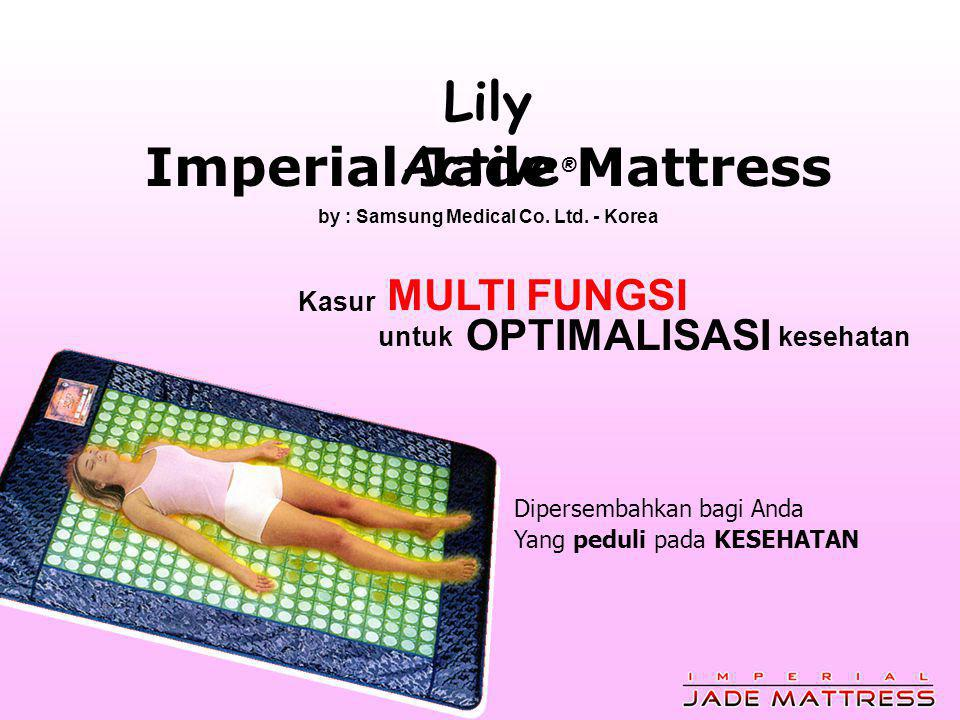 Imperial Jade Mattress by : Samsung Medical Co. Ltd. - Korea
