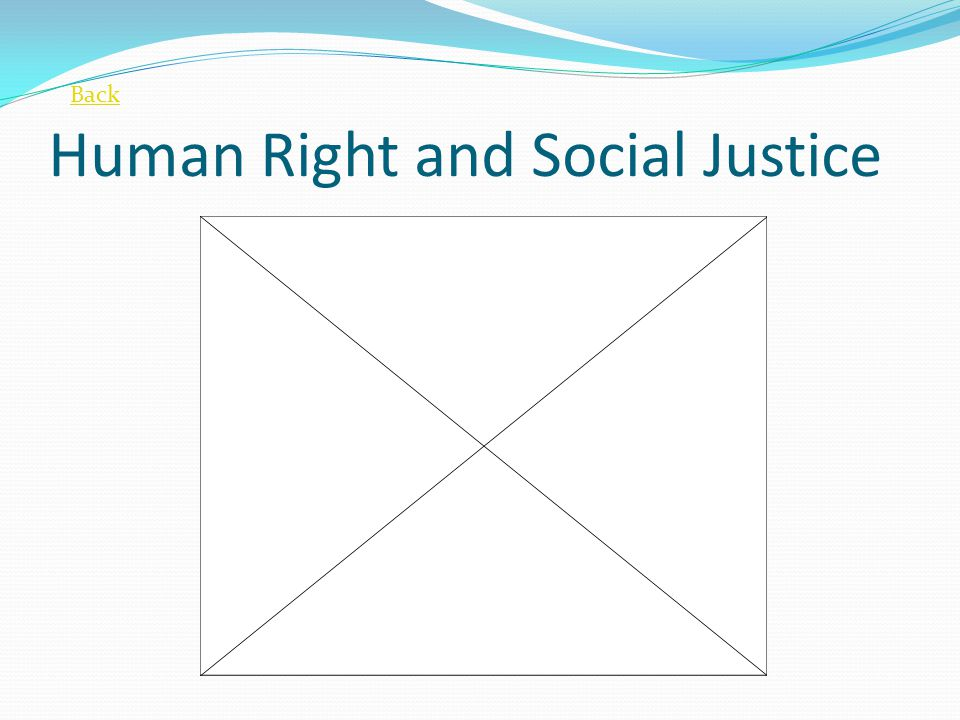 Human Right and Social Justice
