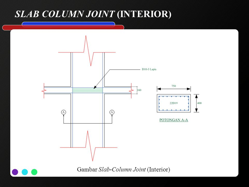SLAB COLUMN JOINT (INTERIOR)