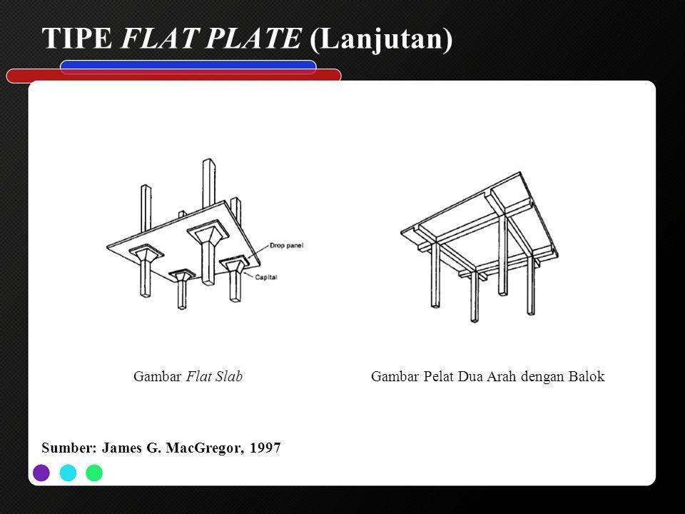 TIPE FLAT PLATE (Lanjutan)