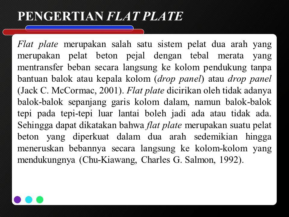 PENGERTIAN FLAT PLATE
