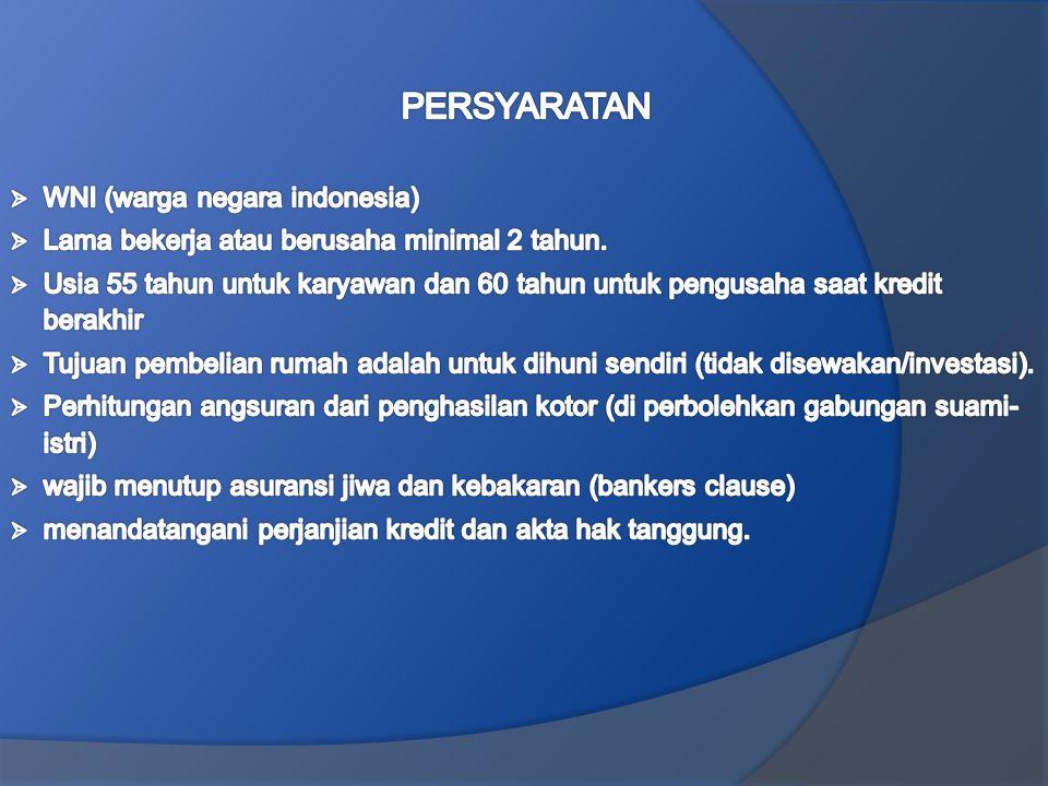 PERSYARATAN WNI (warga negara indonesia)