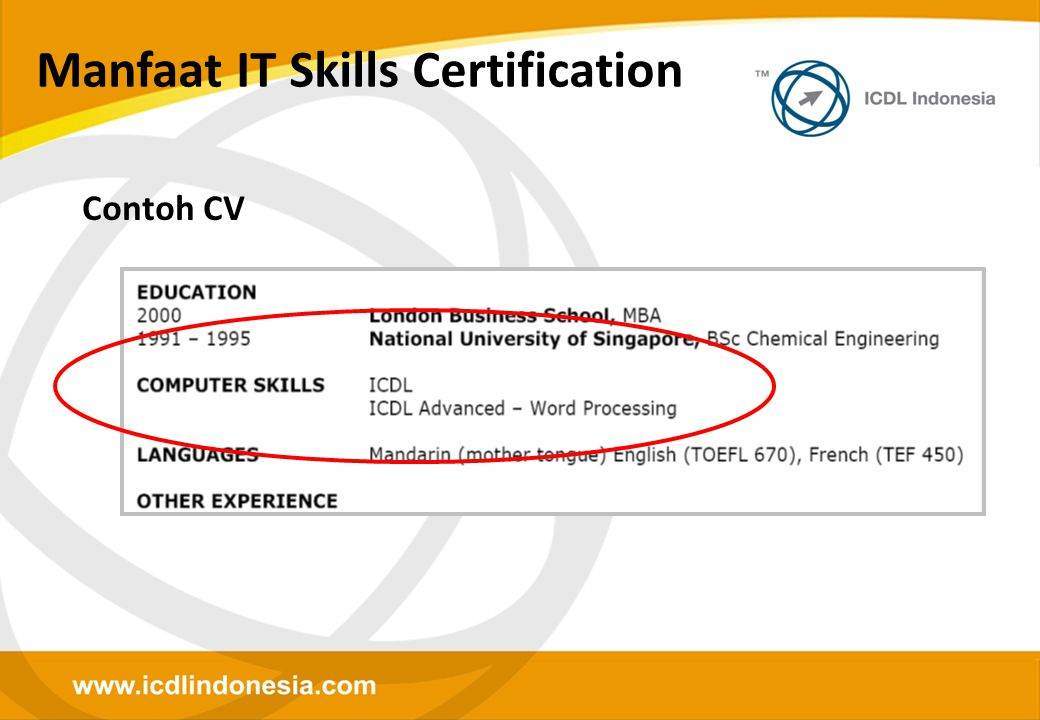 Manfaat IT Skills Certification