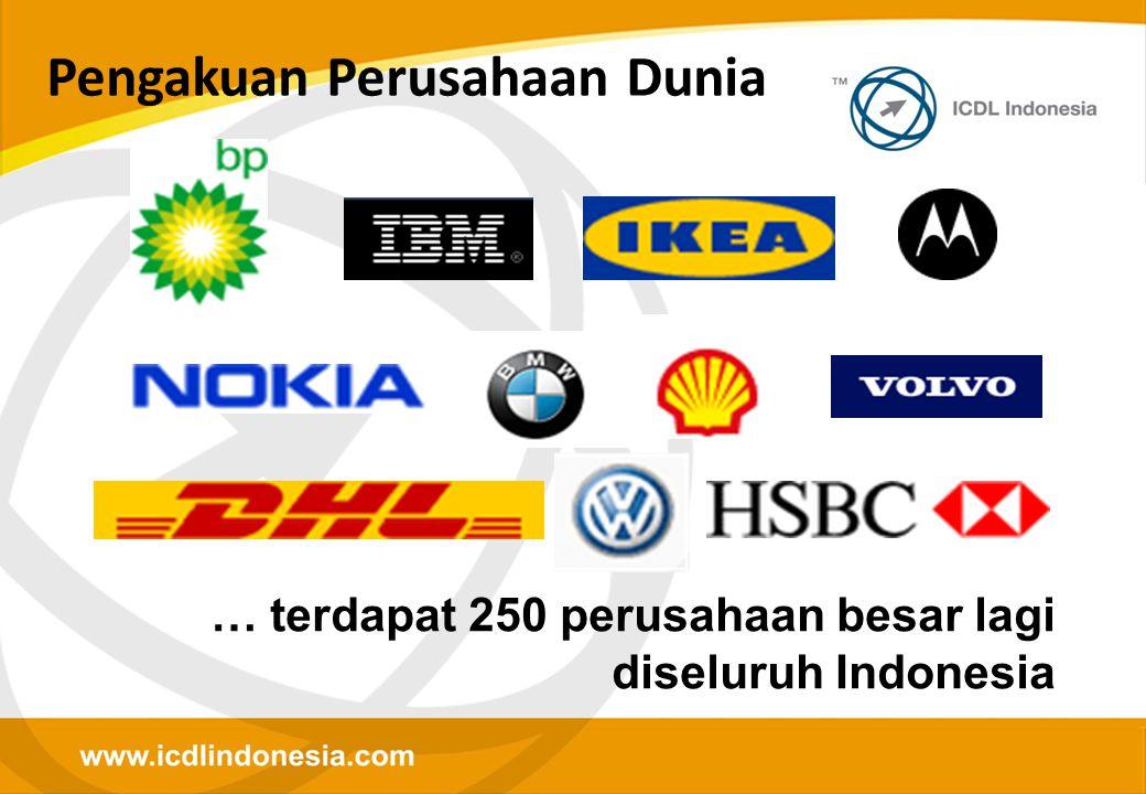Pengakuan Perusahaan Dunia