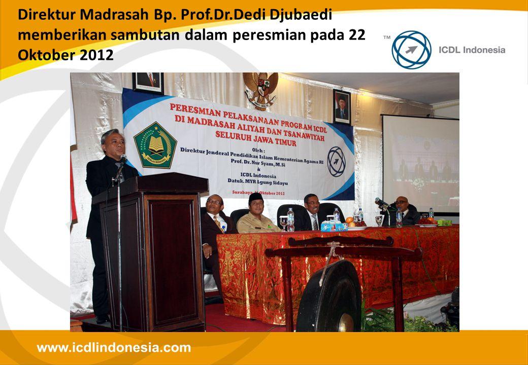 Direktur Madrasah Bp. Prof. Dr