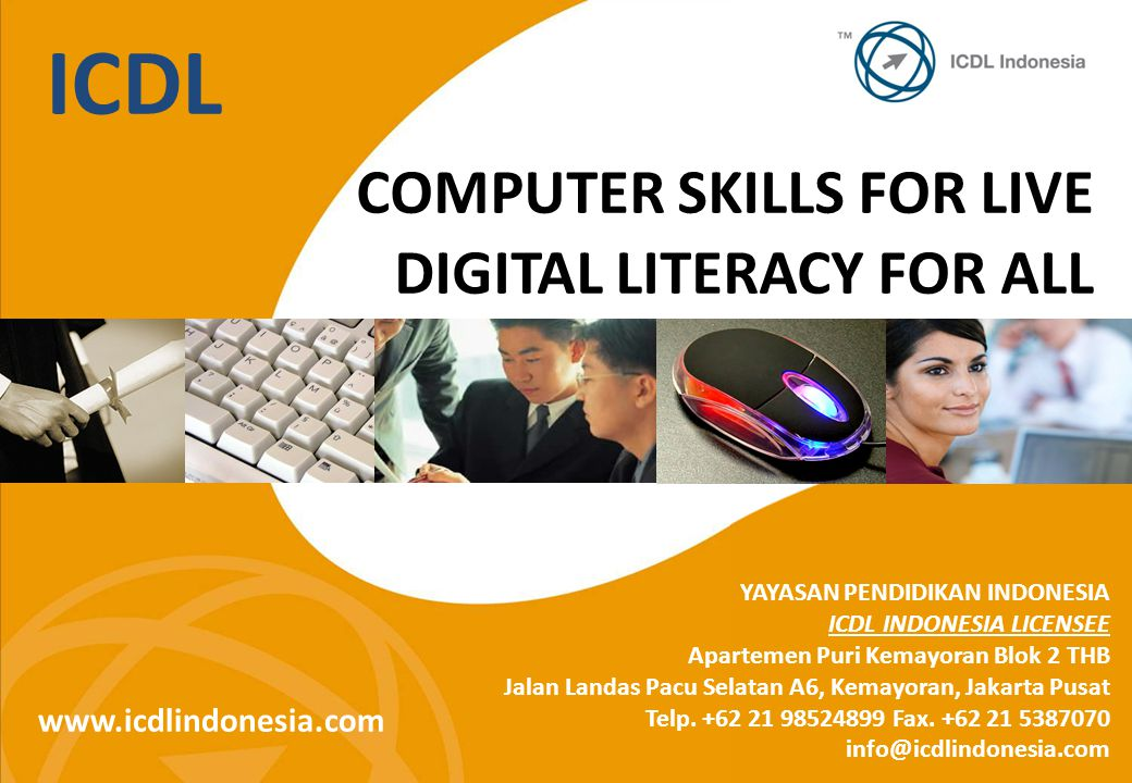 ICDL COMPUTER SKILLS FOR LIVE DIGITAL LITERACY FOR ALL