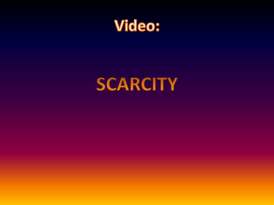 Video: SCARCITY