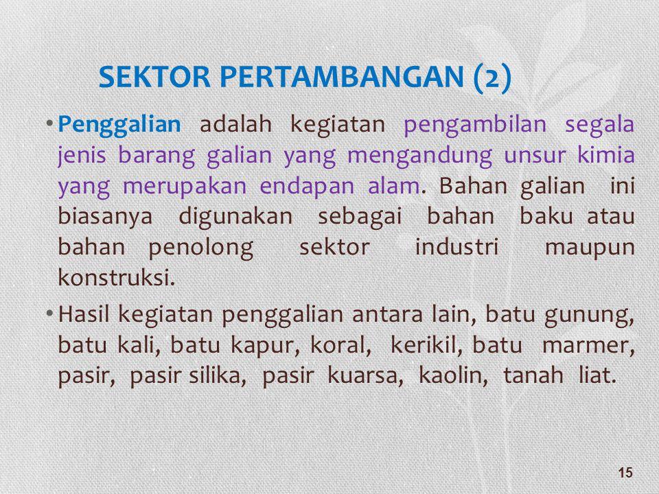 SEKTOR PERTAMBANGAN (2)