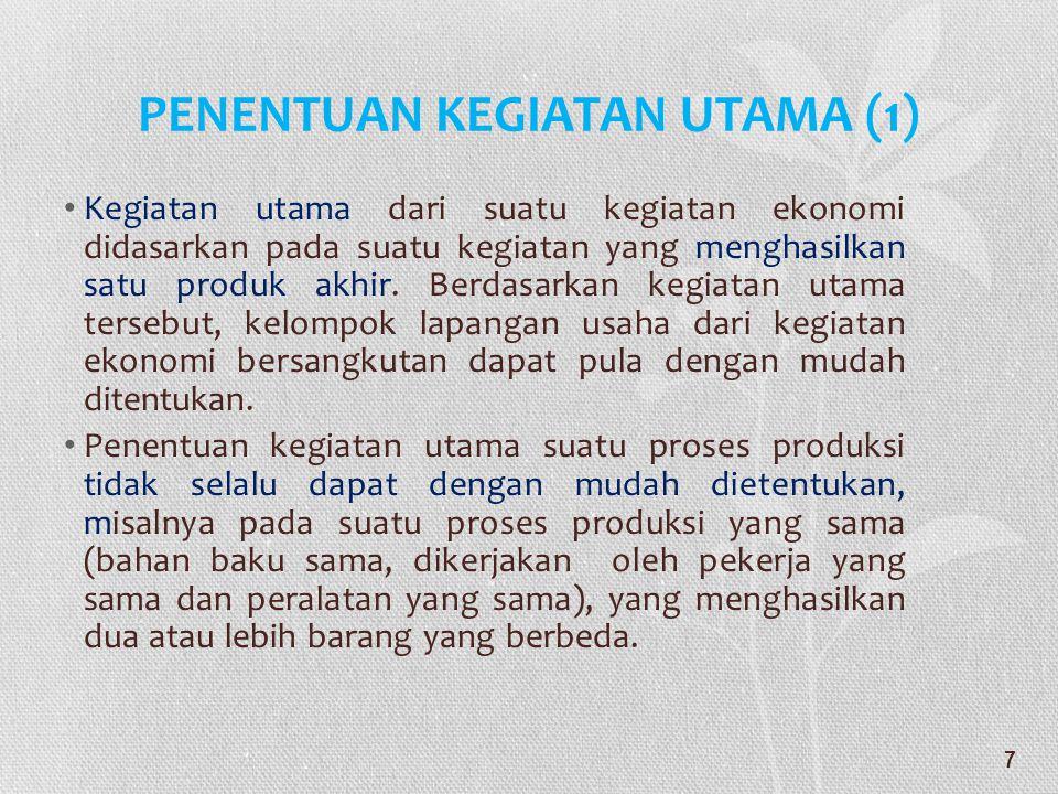 PENENTUAN KEGIATAN UTAMA (1)