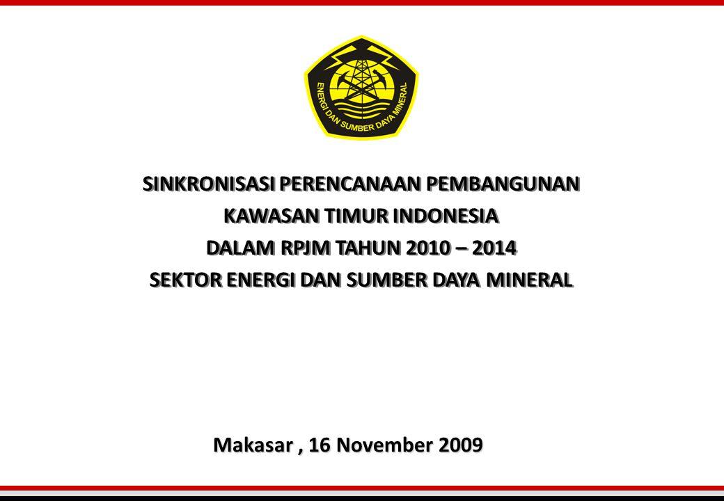 SINKRONISASI PERENCANAAN PEMBANGUNAN KAWASAN TIMUR INDONESIA