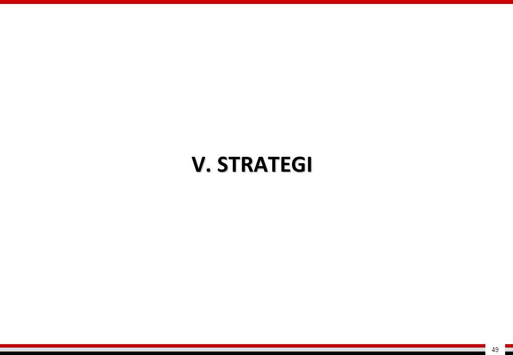 V. STRATEGI